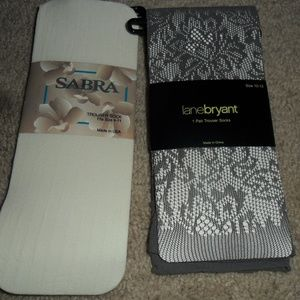 Nwt 2 pair of trouser socks